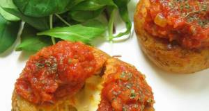 Crab Cakes with Tuna and Cheese