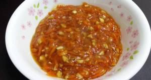 Carrot Plum Sauce