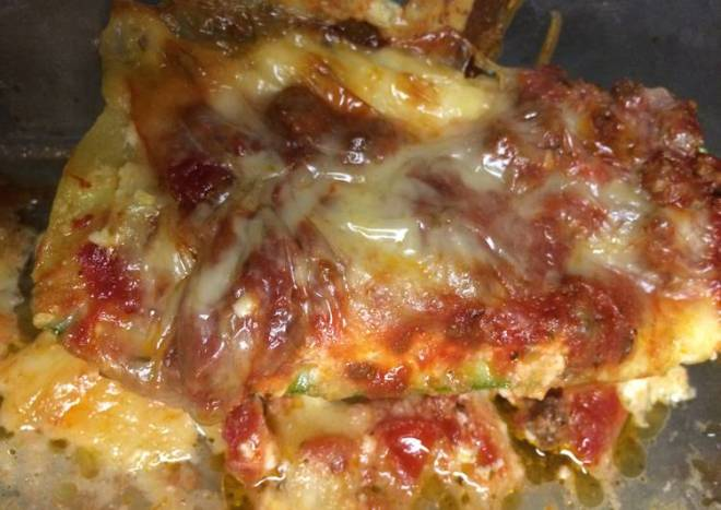LOW CARB | Lasagna Zucchini Boats