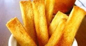 Easy Bread Crust Rusks