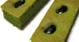 Matcha Cake Sticks