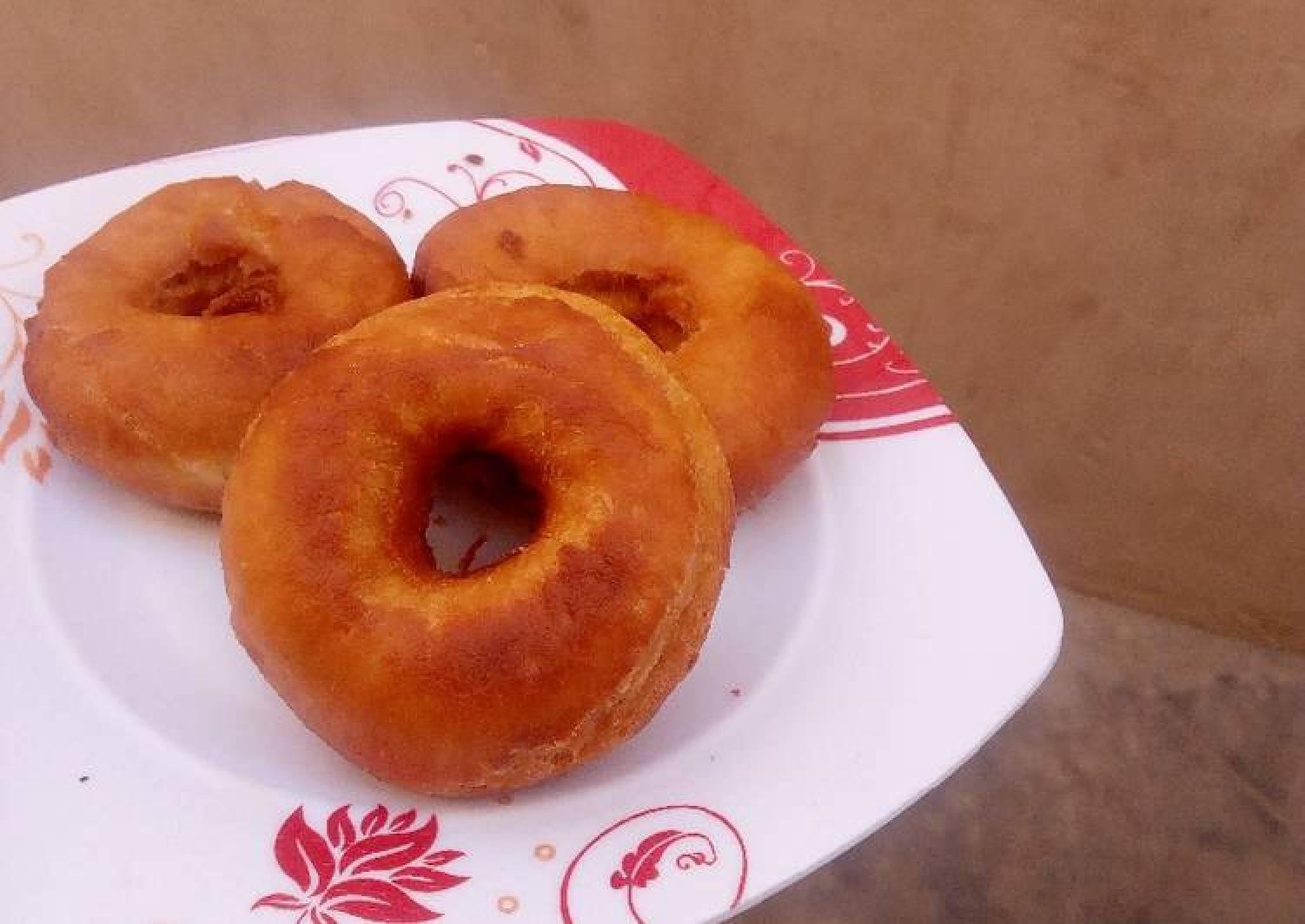 Fluffy doughnut