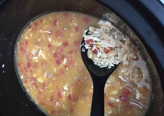 Step-by-Step Guide to Prepare Heston Blumenthal Easy Crockpot WHITE CHICKEN TACO CHILI