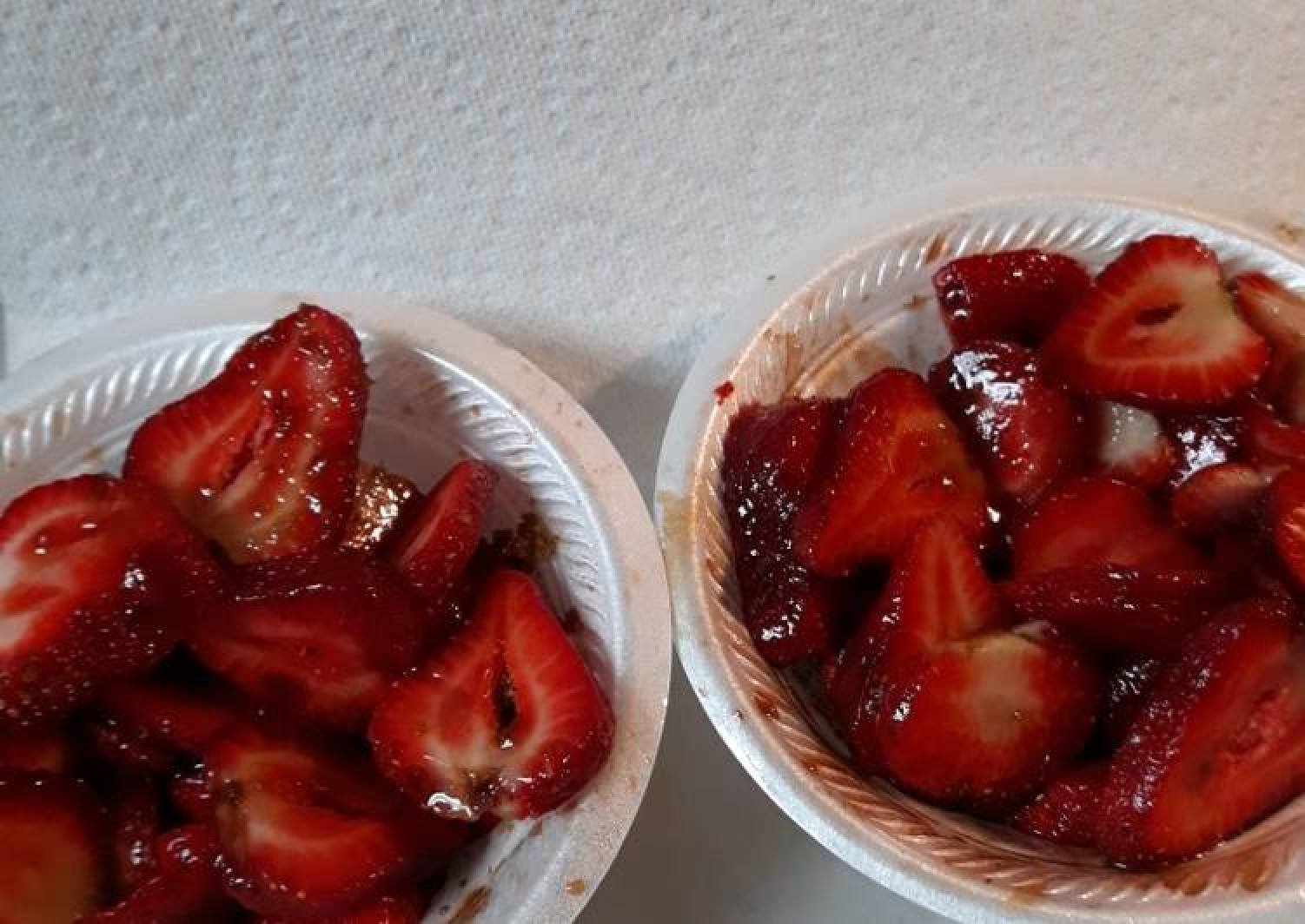 Balsamic, Brown Sugar Strawberries