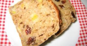 Oil- Egg- and Sugar-Free Easy Banana Bread