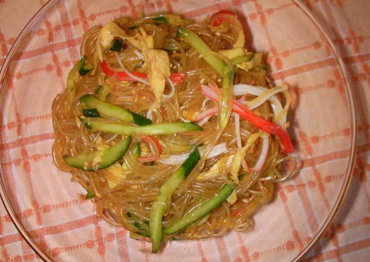 Simple Chinese Cellophane Noodle Salad