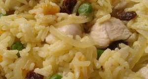 Vickys Chicken  Apricot Pilaf GF DF EF SF NF
