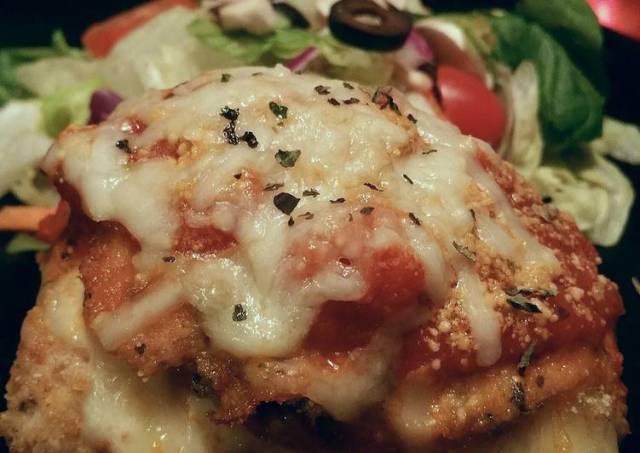 Mozzarella and Pepperoni Stuffed Chicken