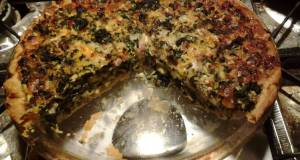 Easy Kale Quiche