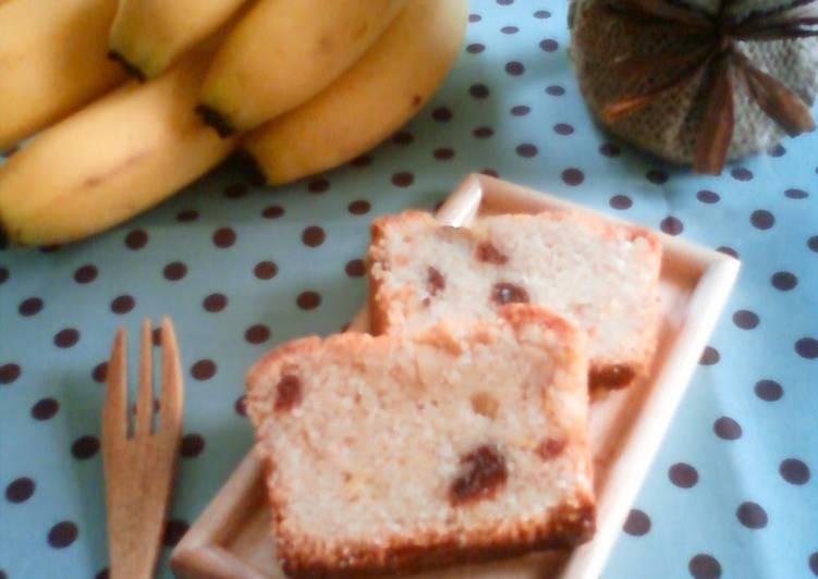 Macrobiotic Banana Pound Cake