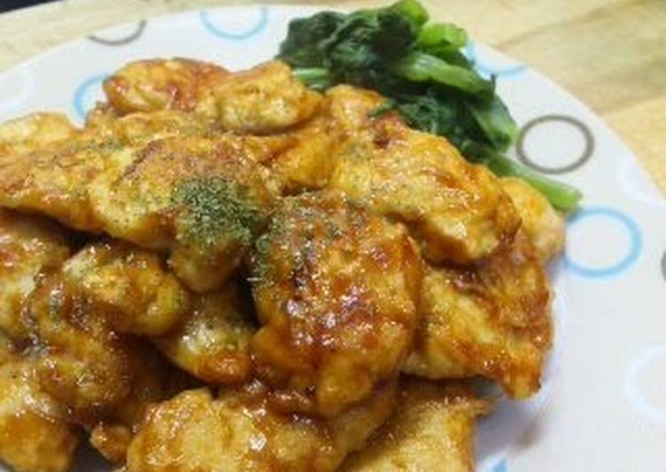 Chicken Piccata for Bento