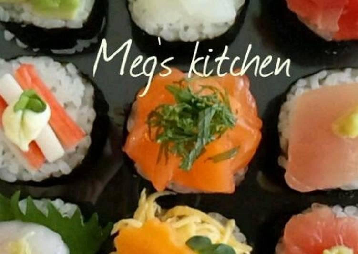Temari Sushi-Style Rolled Sushi