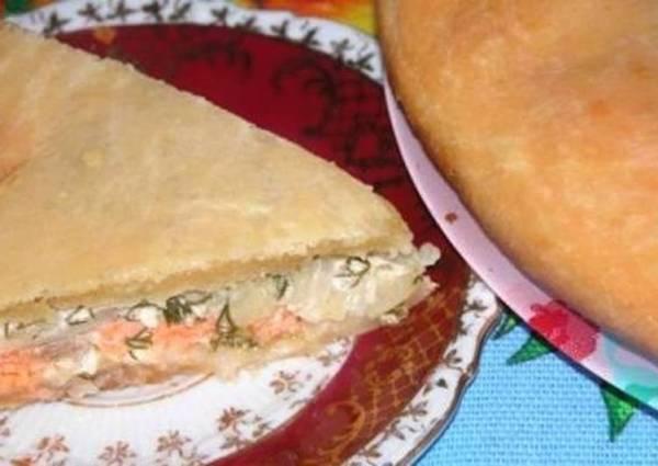 Универсальный рыбный пирог - пошаговый рецепт с фото ...