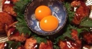 Chicken Tsukune Dumplings