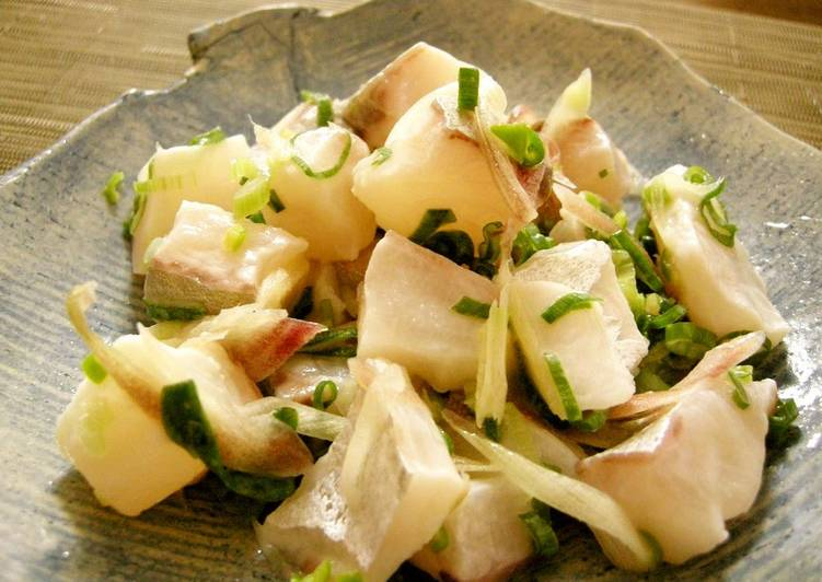 Japanese-Style Ceviche with Myoga Ginger