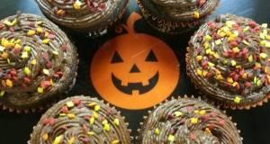 Fall Chocolate Mocha Cupcakes