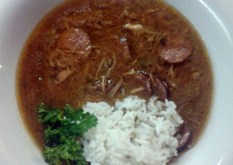 Louisiana Chicken and Andouille Sausage Gumbo