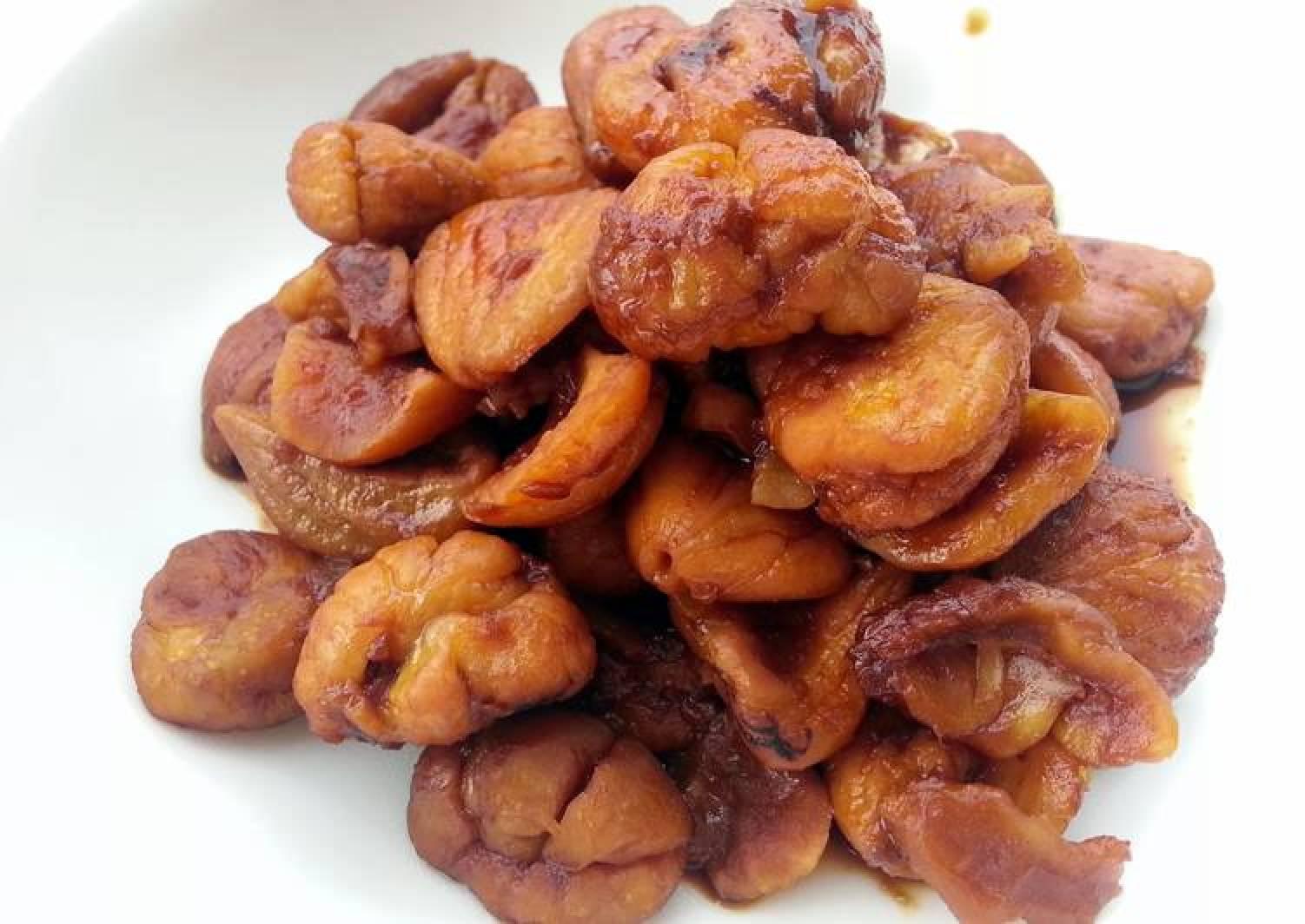 Caramelized Chestnut Appetizer