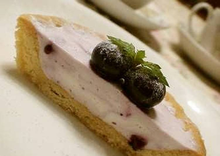 Blueberry Yogurt Tarts