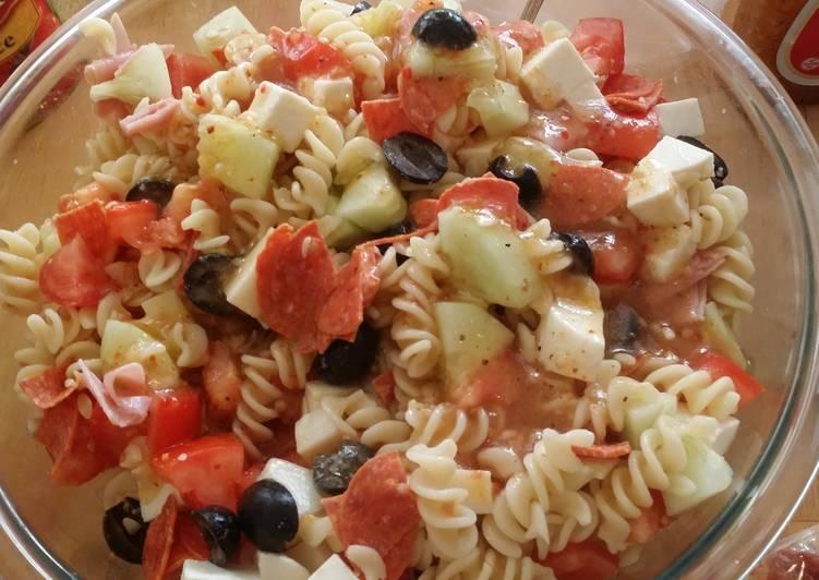 Taisen's semi Italian pasta salad