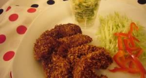 Macrobiotic Non-Fried Kurumabu Cutlet