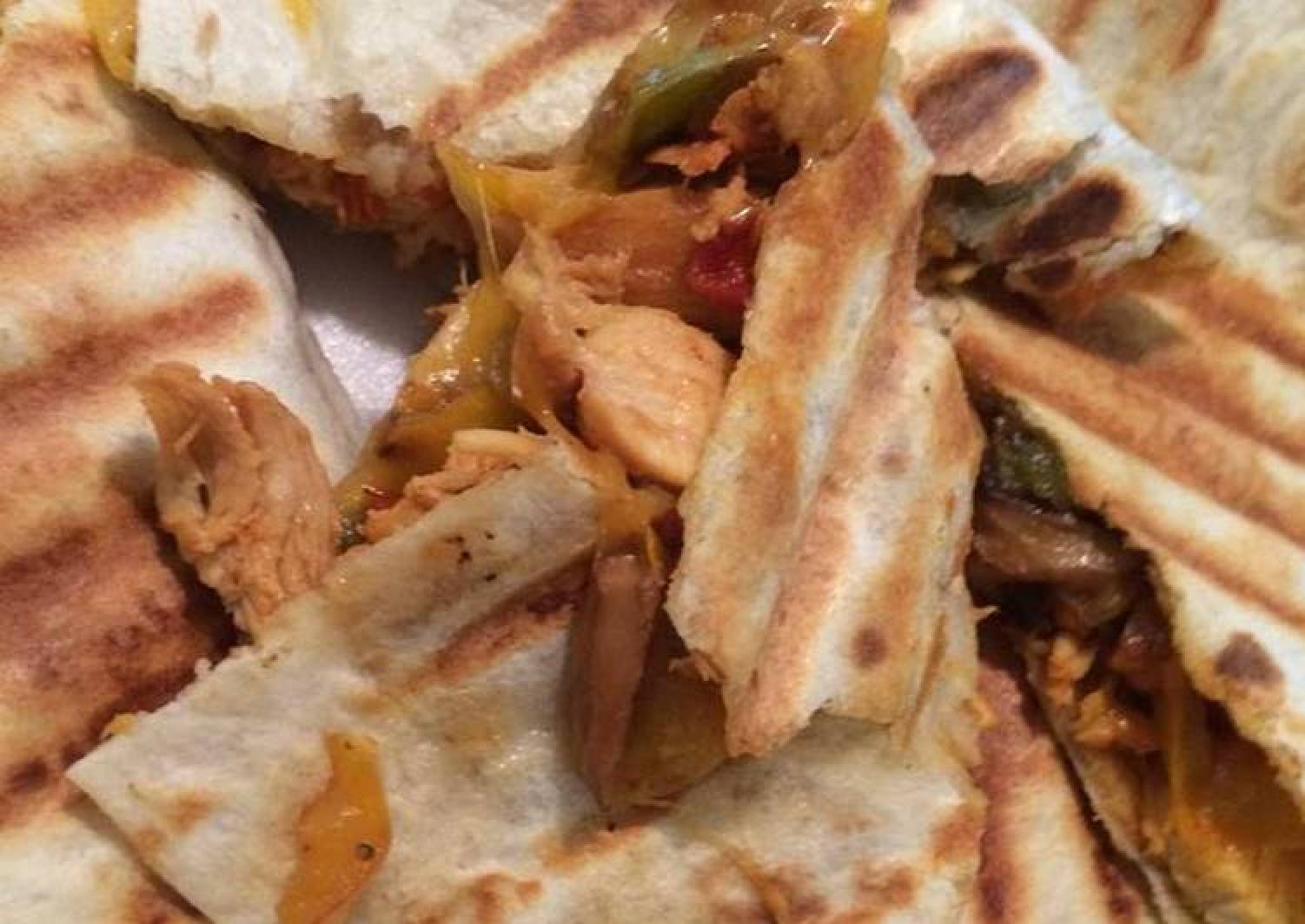 "Perfect ""George Foreman"" Quesadillas"