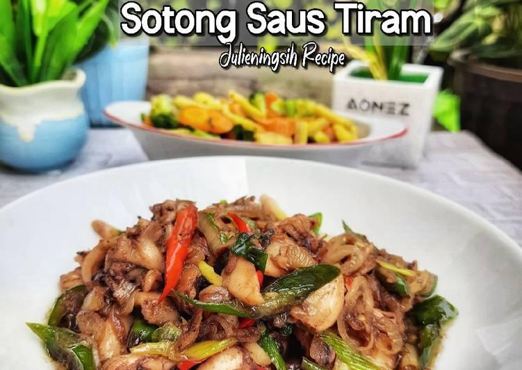 Sotong Saus Tiram