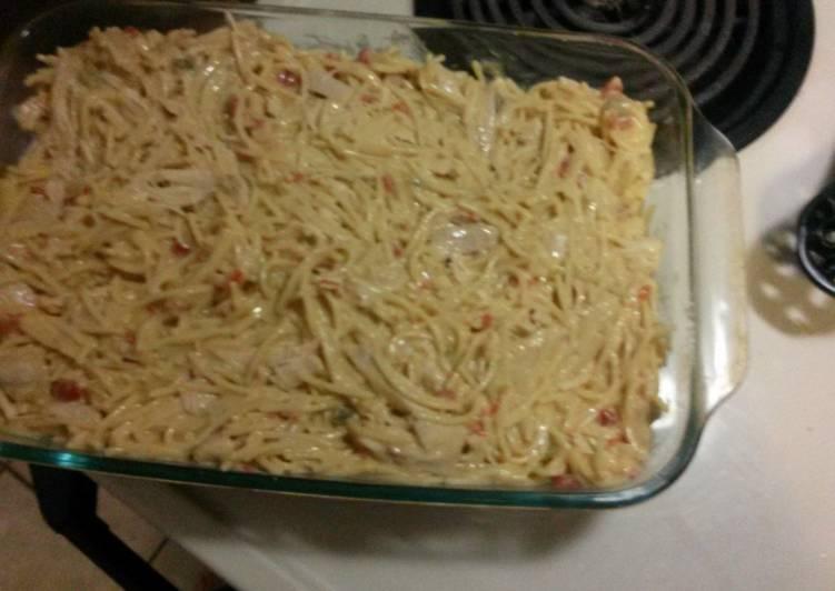 Chicken spaghetti my way