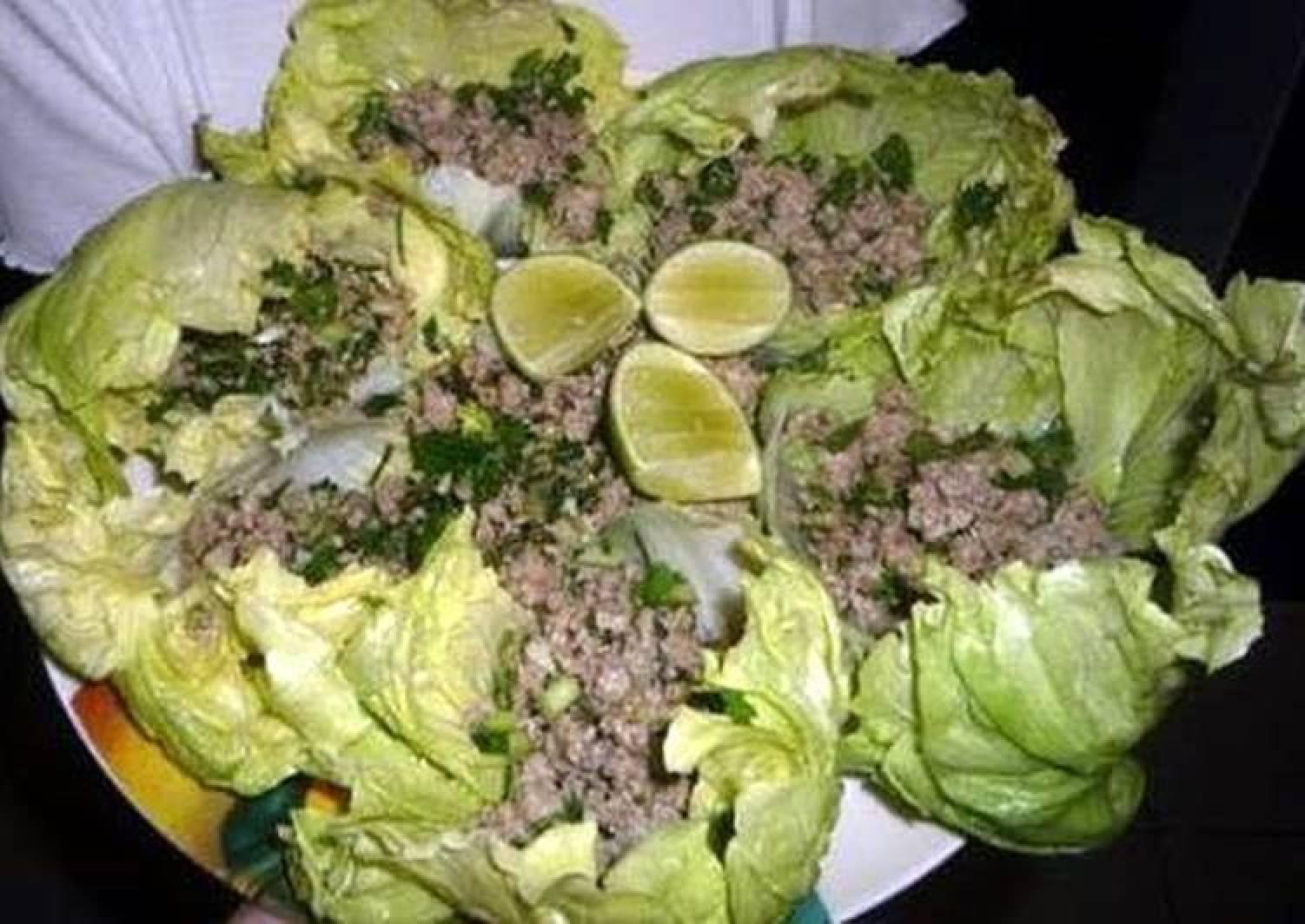Lao chicken salad ( Lap kai)