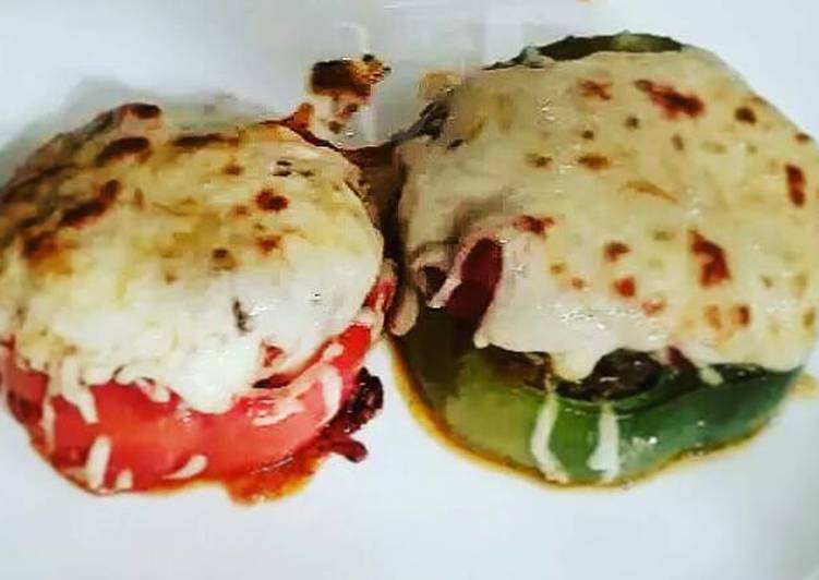 Italian Style Meatloaf Pepper Rings