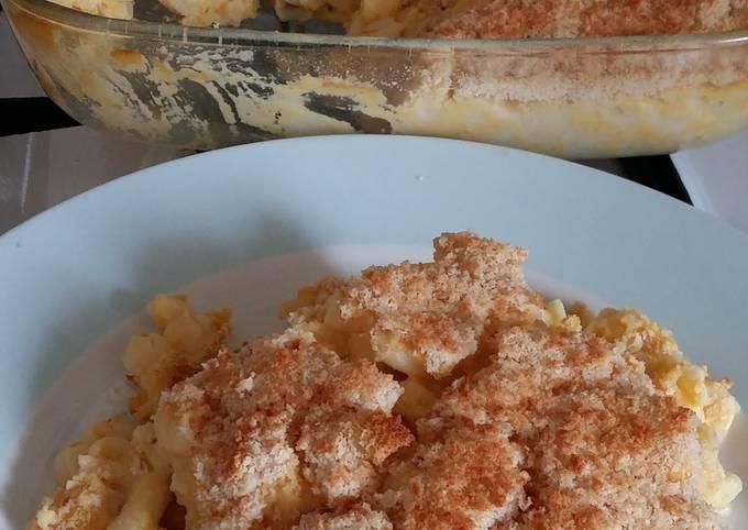 Step-by-Step Guide to Make Jamie Oliver Vickys Baked Mac 'n' Cheese, GF DF EF SF NF