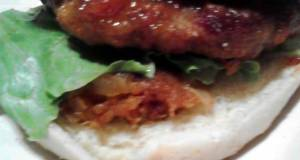 Sweet N Sour Turkey Burgers w/ Sweet n Spicy Pineapple Saute