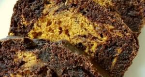 Vickys Pumpkin Chocolate Marble Loaf GF DF EF SF NF