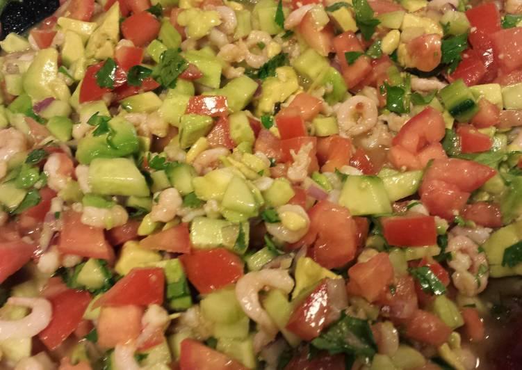 Oregon Shrimp Meat Ceviche