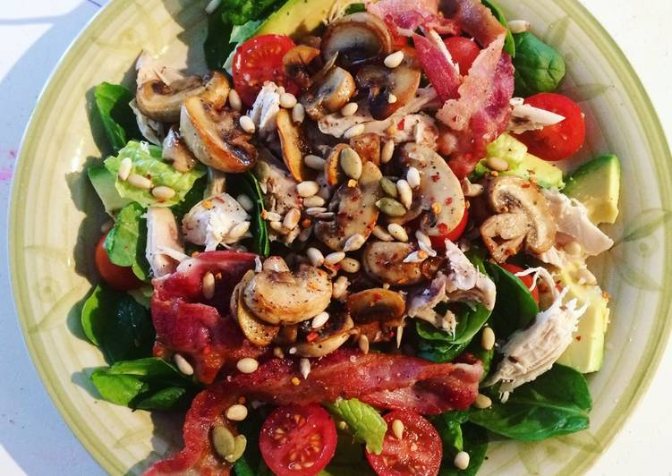LCHF salad