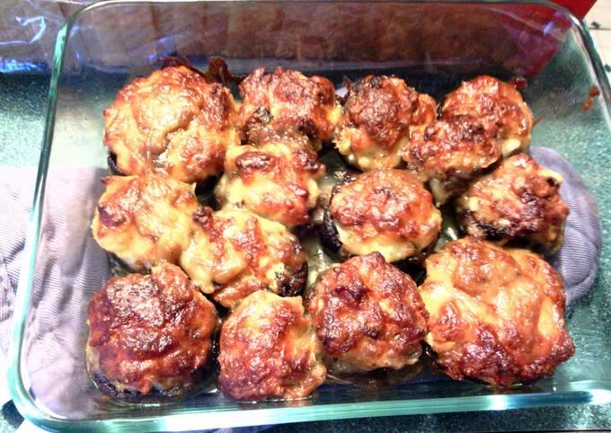 How to Prepare Tasty crab stuffed mushrooms