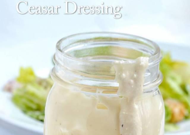 Jeanine's Classic Caesar Salad Dressing