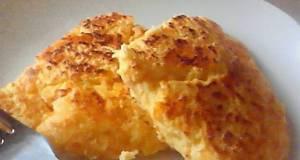 Fluffy  Chewy Okara Cheese Bake