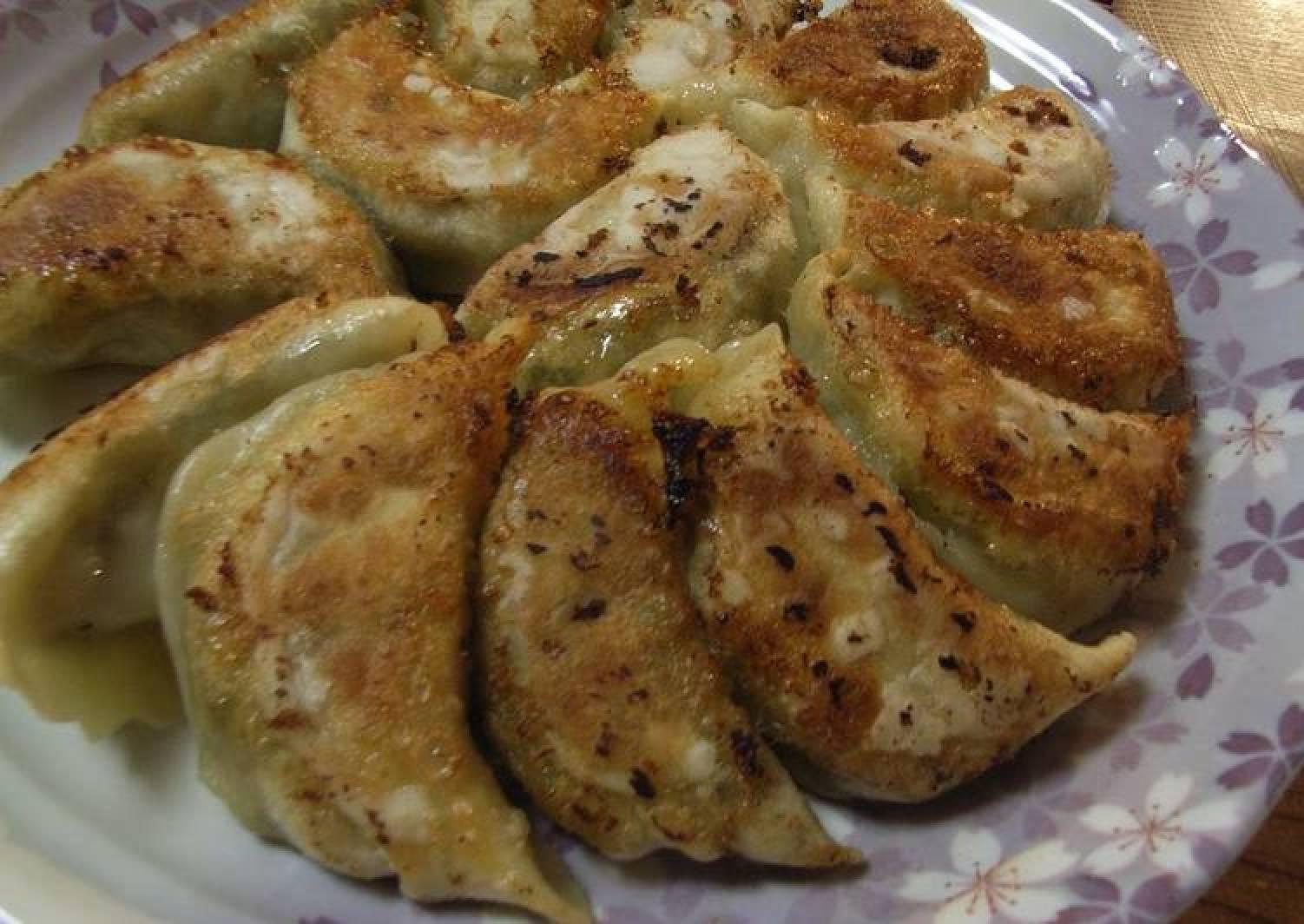 Jaw-dropping Gyoza Dumplings