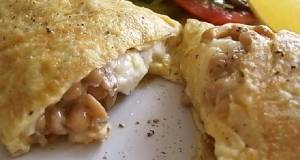 Japanese-style Omelette with Natto and Cream Cheese