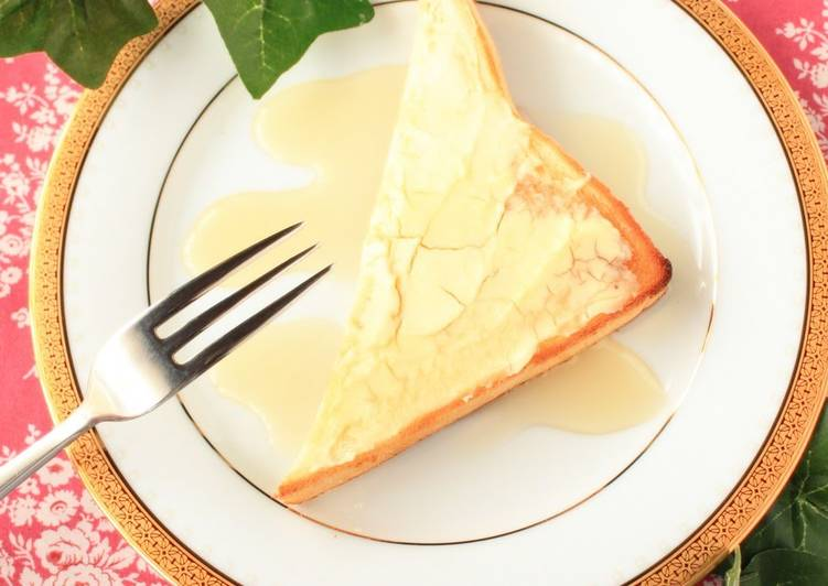 For Breakfast: Rich Cheesecake-Like Toast