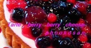 Very Berry Raspberry Cheese Cream Tart
