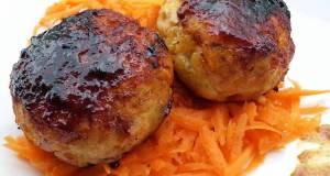 Chicken With Bacon Mini Burger In Hoisin Sauce