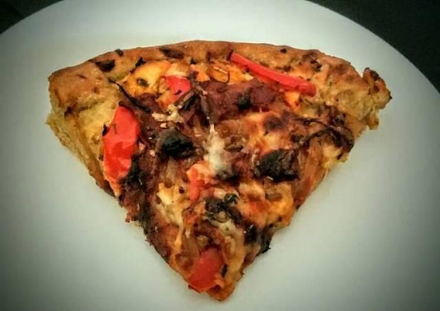 Deep Dish BBQ Chicken Pizza