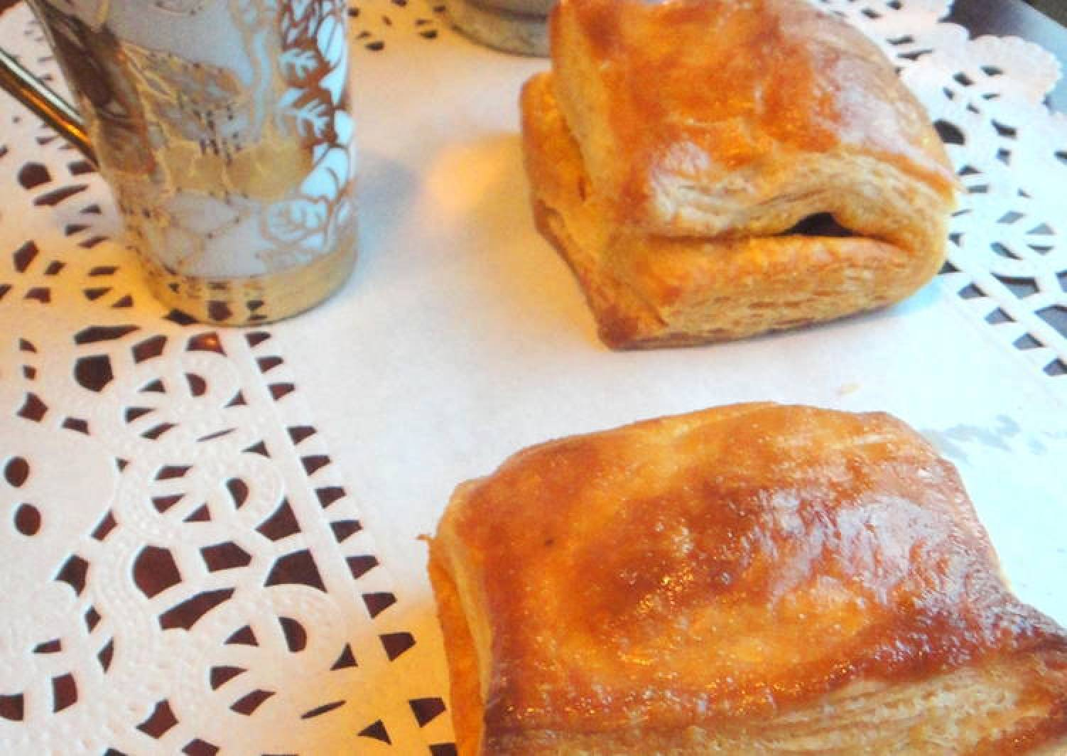 Chicken Puffs with Homemade Puff Pastry