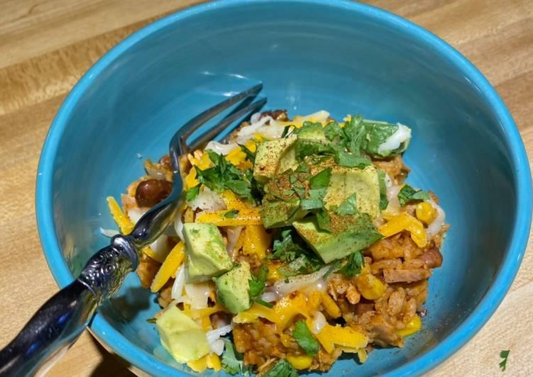 Chef Miguels InstaPot Chicken Enchilada Rice Bowl