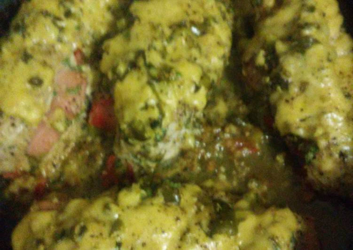 Cheesy Spicy Chicken with stuffing