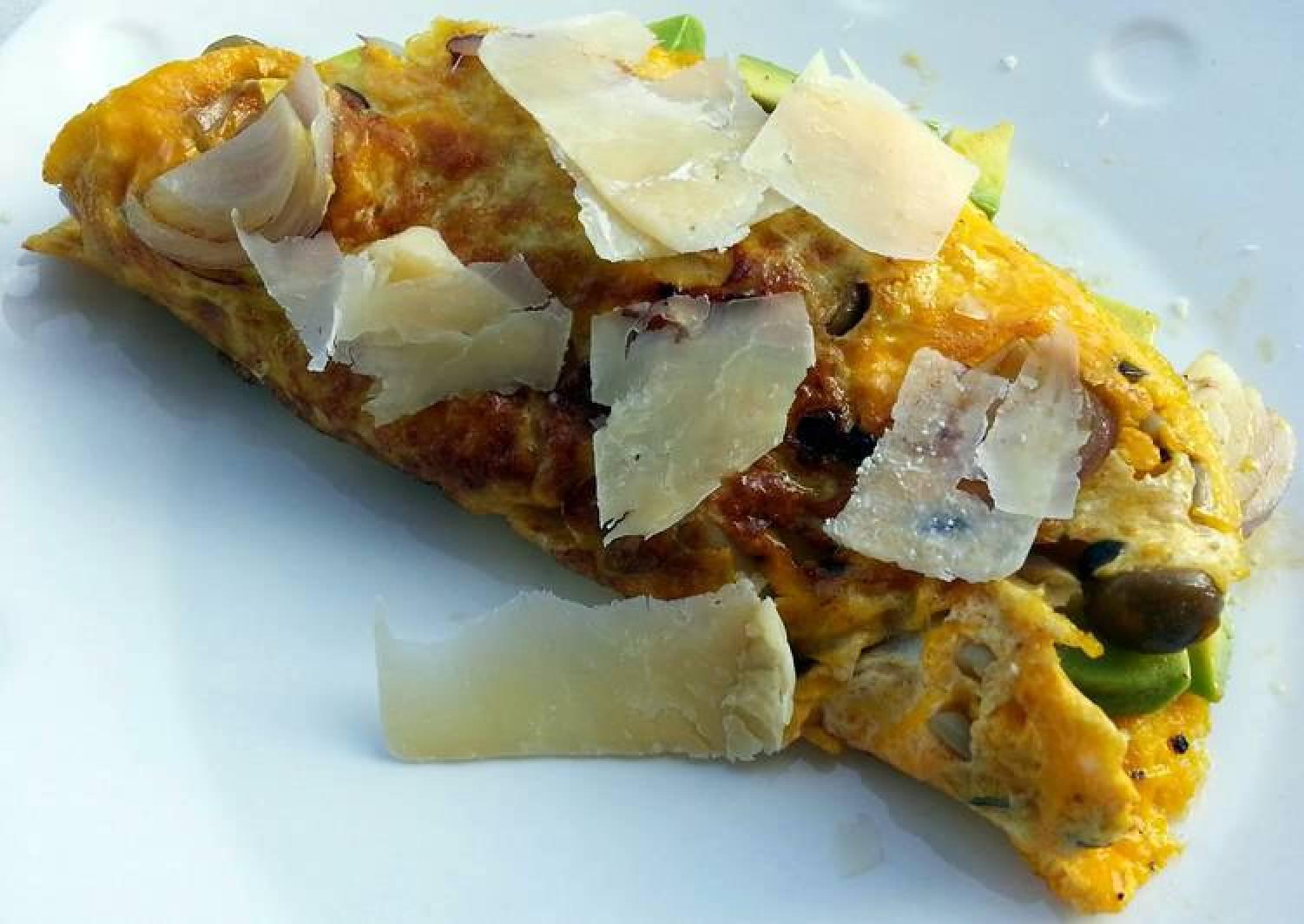 Avocado Omelette (Diet Lunch)