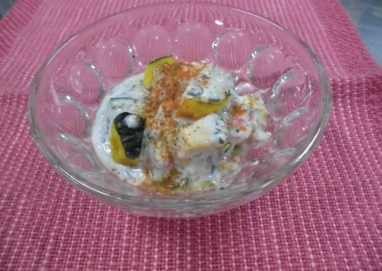 Yoghurt Salad Fiji Style