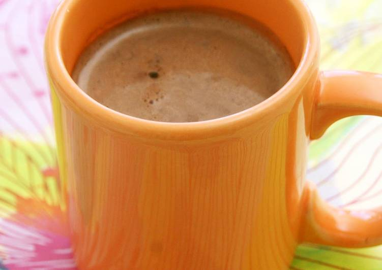 hot chocolate in the microwave